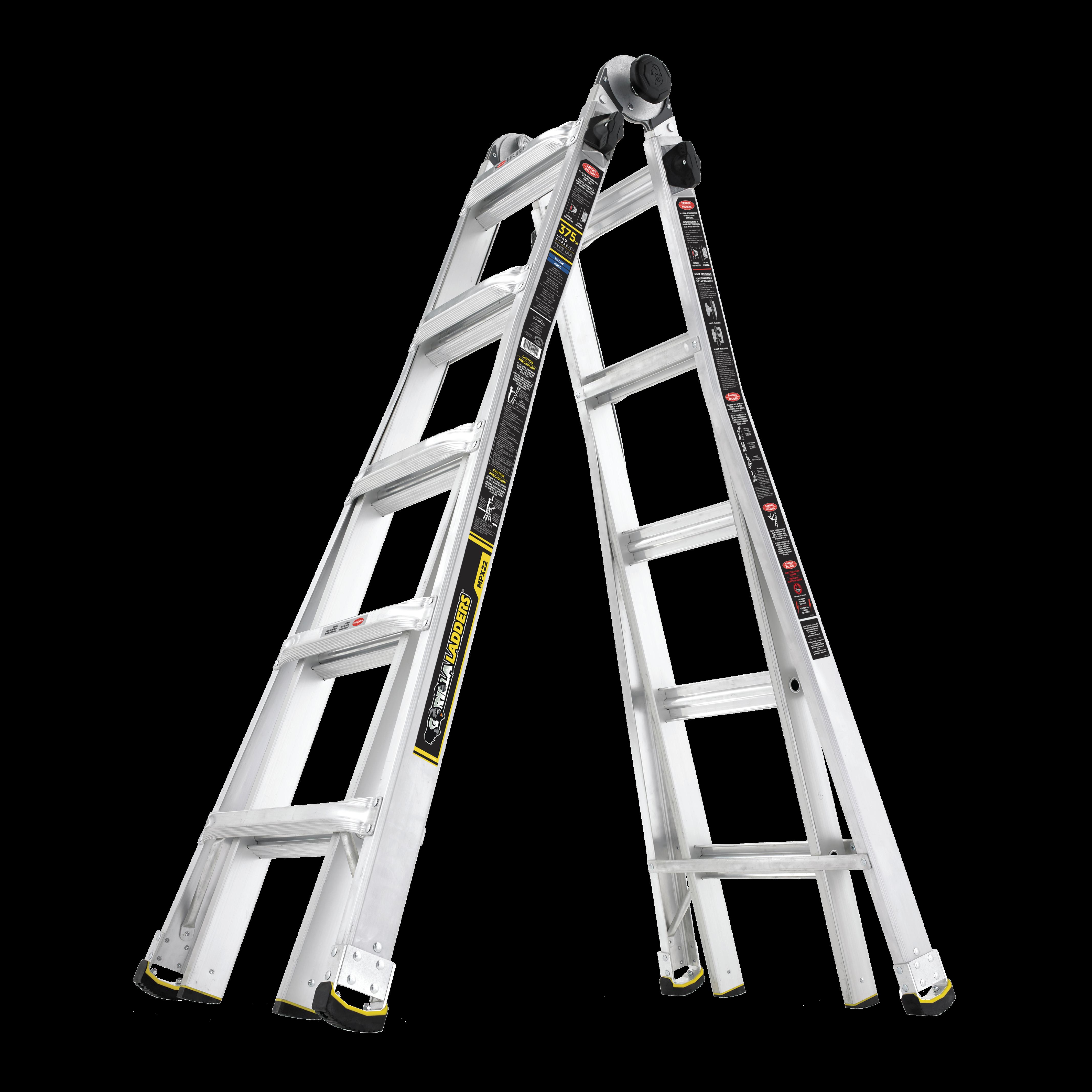 Gorilla Ladders Multi Position Ladders