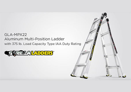 Gorilla Ladders 22 Ft Mpx Aluminum Multi Position Ladder