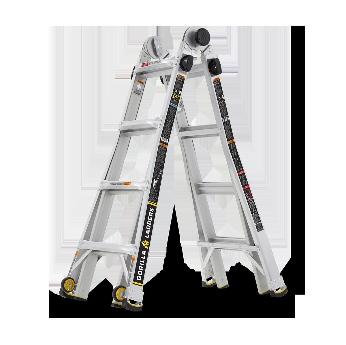Gorilla Laddersglmpx 18w 2 Gorilla Ladders